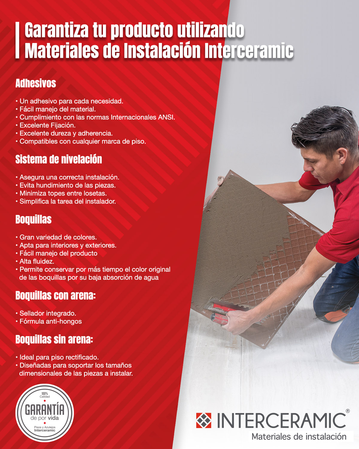 Interceramic Garantía Materiales Instalación The Home Depot México