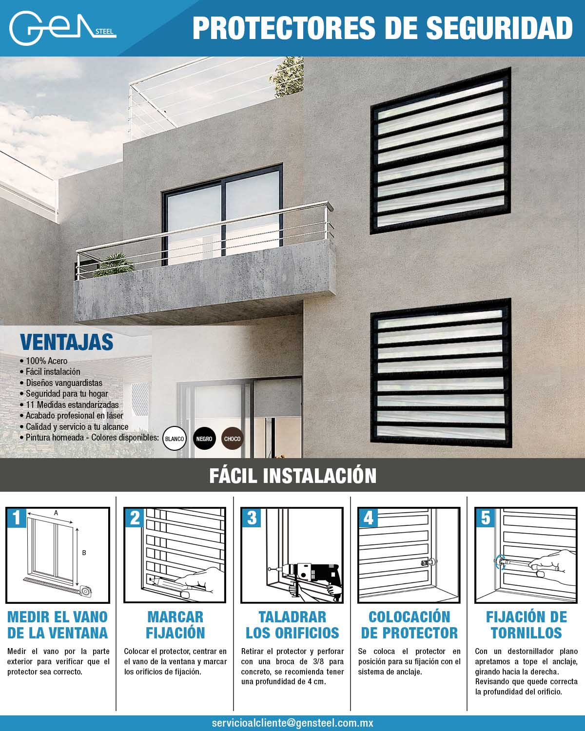 Protectores para Ventana Contempo The Home Depot Mexico