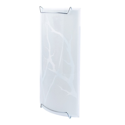 LÁMPARA DE PARED BARDI 1 LUZ E26 28 CM BLANCO | The Home Depot México