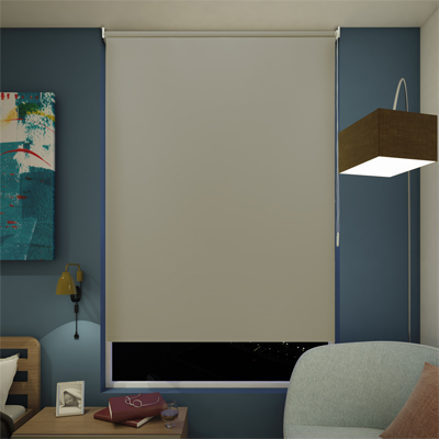 CORTINA ENROLLABLE BLACKOUT 120X180 CM CAFÉ | The Home Depot México