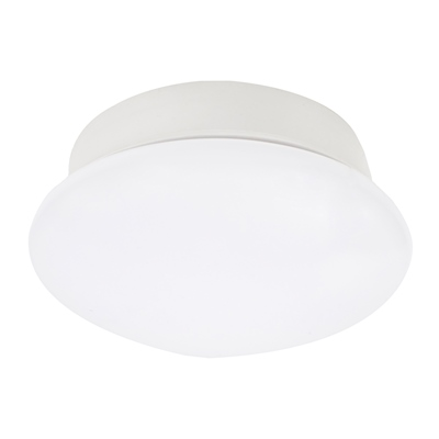LÁMPARA DE TECHO ENROSCABLE LED 8 WATTS DE 18 CM BLANCO | The Home Depot México