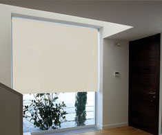PERSIANA ENROLLABLE BLACKOUT 1.4X2 M MARFIL | The Home Depot México