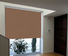PERSIANA ENROLLABLE BLACKOUT 2.2X2.4 M CAFÉ | The Home Depot México