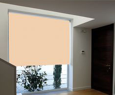 PERSIANA ENROLLABLE BLACKOUT 1.4X2.4 M BEIGE | The Home Depot México