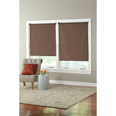 PERSIANA ENROLLABLE DE 100 X 180 CM CHOCOLATE | The Home Depot México