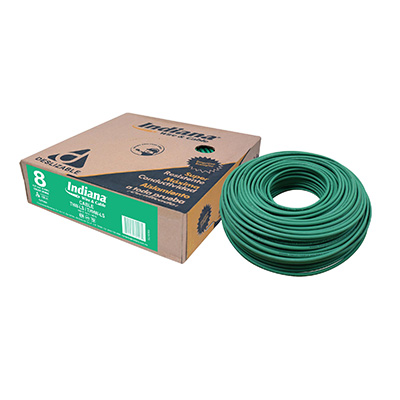 CABLE THW-LS/THHW-LS DESLIZABLE 8 AWG VERDE 100 M INDIANA | The Home Depot México