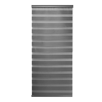 PERSIANA ENROLLABLE SHEER DUO 160 X 220 CM GRIS OSCURO | The Home Depot México