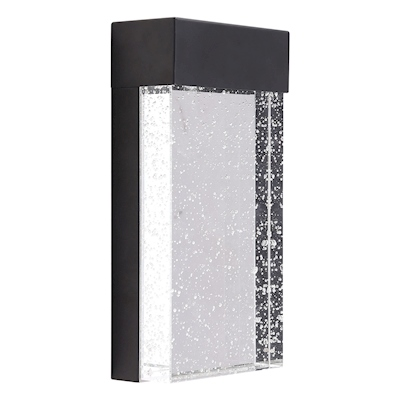 LUMINARIO PARA EXTERIOR LED 25.4 X 12.7 X 6.4 CM NEGRO | The Home Depot México