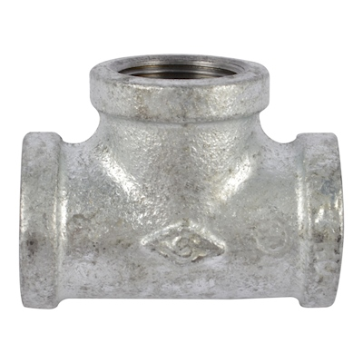 TEE GALVANIZADA 3/4"