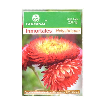 SEMILLAS DE INMORTALES 250 MG MULTICOLOR GERMINAL | The Home Depot México