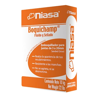 BOQUICHAMP BLANCO 10KG | The Home Depot México