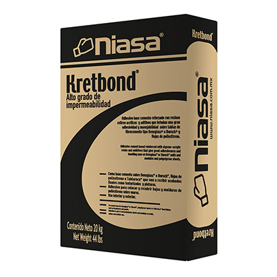 KRETBOND GRIS 20 KG | The Home Depot México