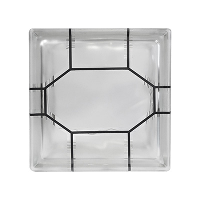 VIDRIO BLOCK DECO OCTAGOL 19X19X8 INDEX INTERCIOL | The Home Depot México